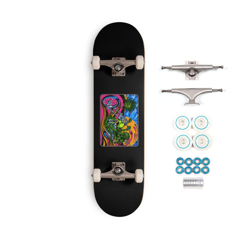 Gettin Stoned Accessories Complete - Basic Skateboard by Dirty Donny's Apparel Shop