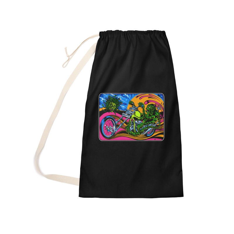 Gettin Stoned Accessories Laundry Bag Bag by Dirty Donny's Apparel Shop