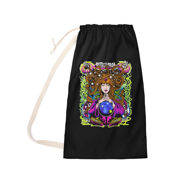 Gypsy Nights Accessories Laundry Bag Bag by Dirty Donny's Apparel Shop