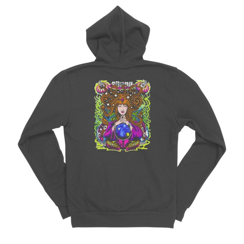 Gypsy Nights Women's Sponge Fleece Zip-Up Hoody by Dirty Donny's Apparel Shop