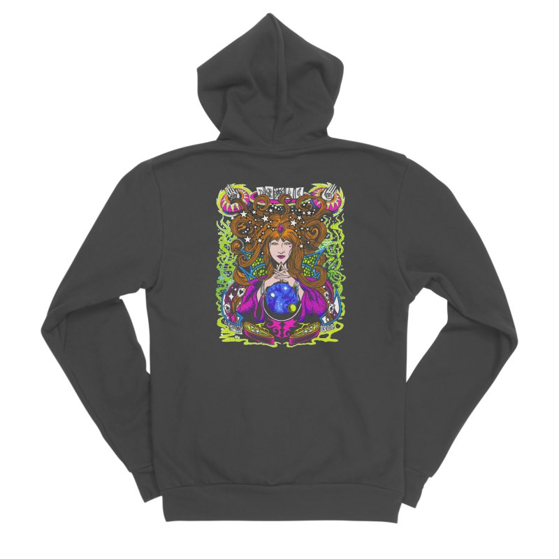 Gypsy Nights Men's Sponge Fleece Zip-Up Hoody by Dirty Donny's Apparel Shop