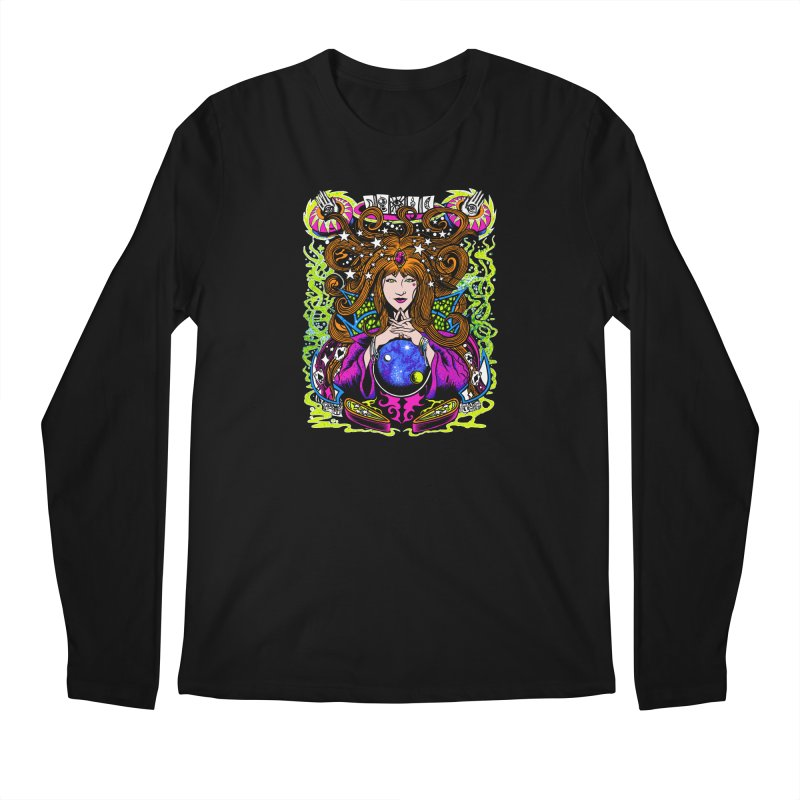 Gypsy Nights Men's Regular Longsleeve T-Shirt by Dirty Donny's Apparel Shop