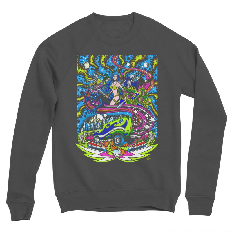 Into The Cosmic Men's Sponge Fleece Sweatshirt by Dirty Donny's Apparel Shop