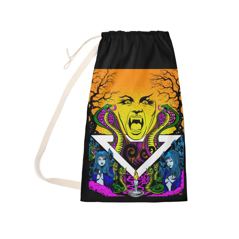 Witching Hour Accessories Laundry Bag Bag by Dirty Donny's Apparel Shop