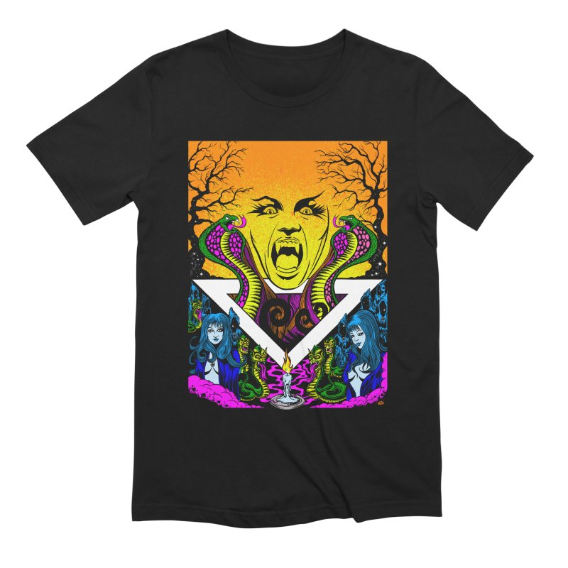 Witching Hour Men's Extra Soft T-Shirt by Dirty Donny's Apparel Shop