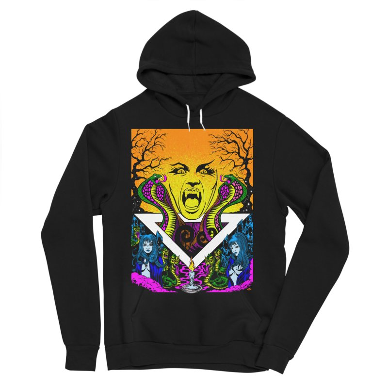 Witching Hour Women's Sponge Fleece Pullover Hoody by Dirty Donny's Apparel Shop