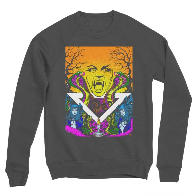 Witching Hour Men's Sponge Fleece Sweatshirt by Dirty Donny's Apparel Shop