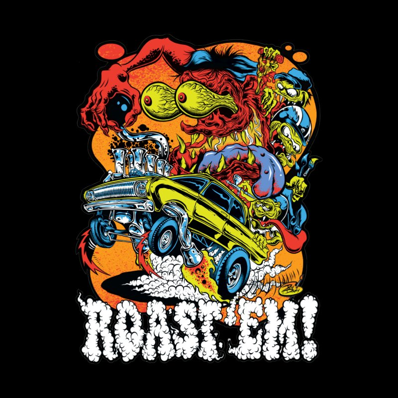 Roast 'em Men's T-Shirt by Dirty Donny's Apparel Shop
