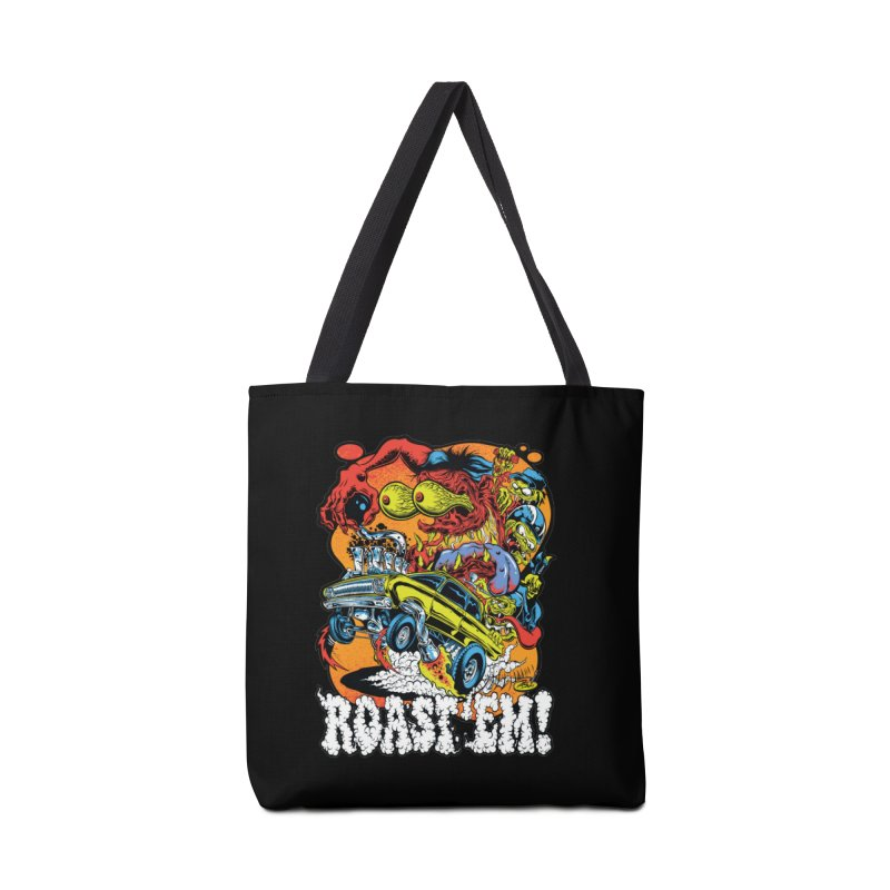 Roast 'em Accessories Tote Bag Bag by Dirty Donny's Apparel Shop