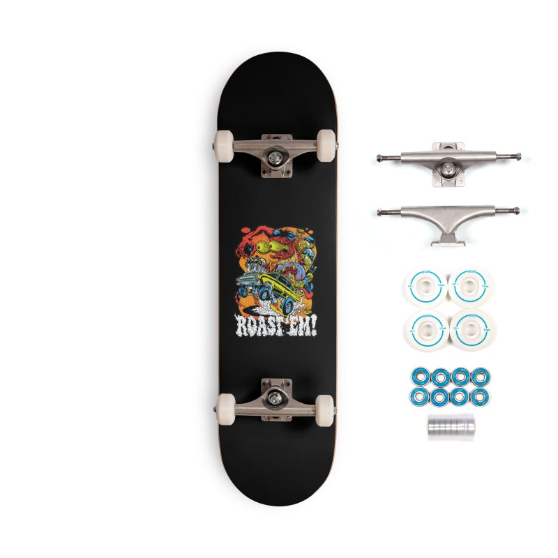 Roast 'em Accessories Complete - Basic Skateboard by Dirty Donny's Apparel Shop