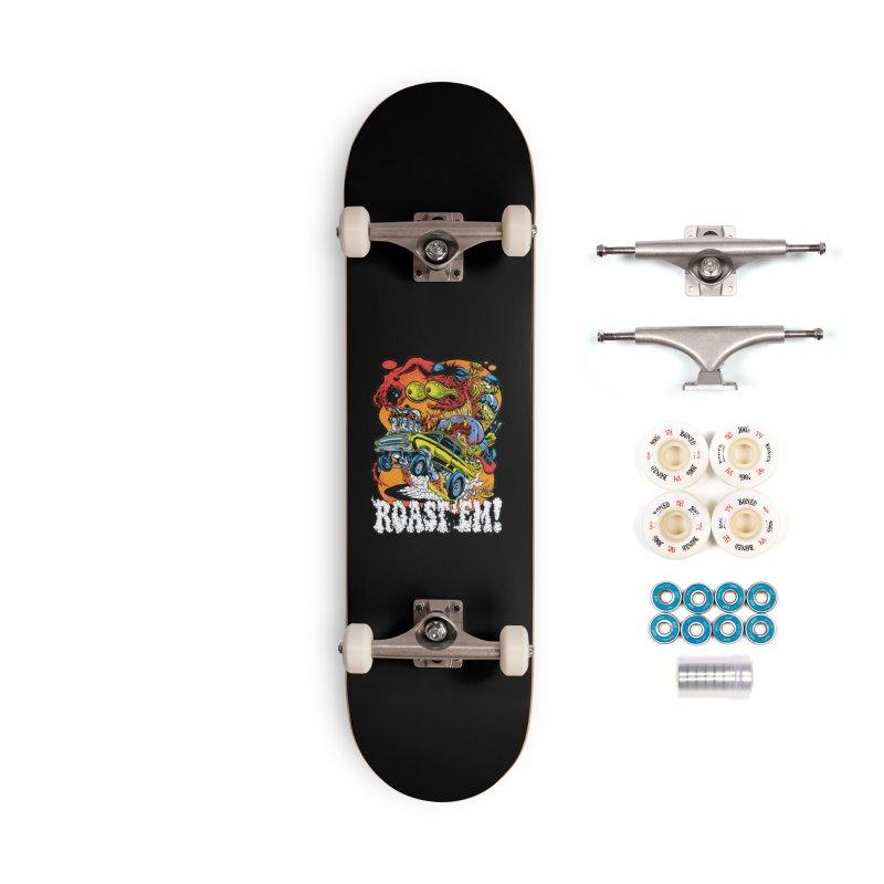 Roast 'em Accessories Complete - Premium Skateboard by Dirty Donny's Apparel Shop