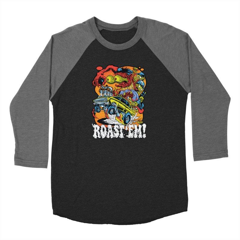 Roast 'em Women's Longsleeve T-Shirt by Dirty Donny's Apparel Shop