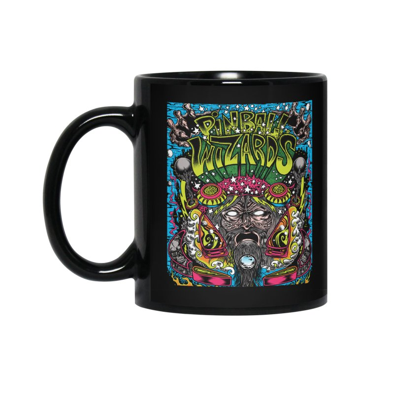 Pinball Wizards Accessories Standard Mug by Dirty Donny's Apparel Shop