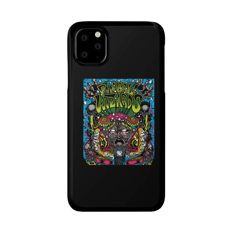 Pinball Wizards Accessories Phone Case by Dirty Donny's Apparel Shop