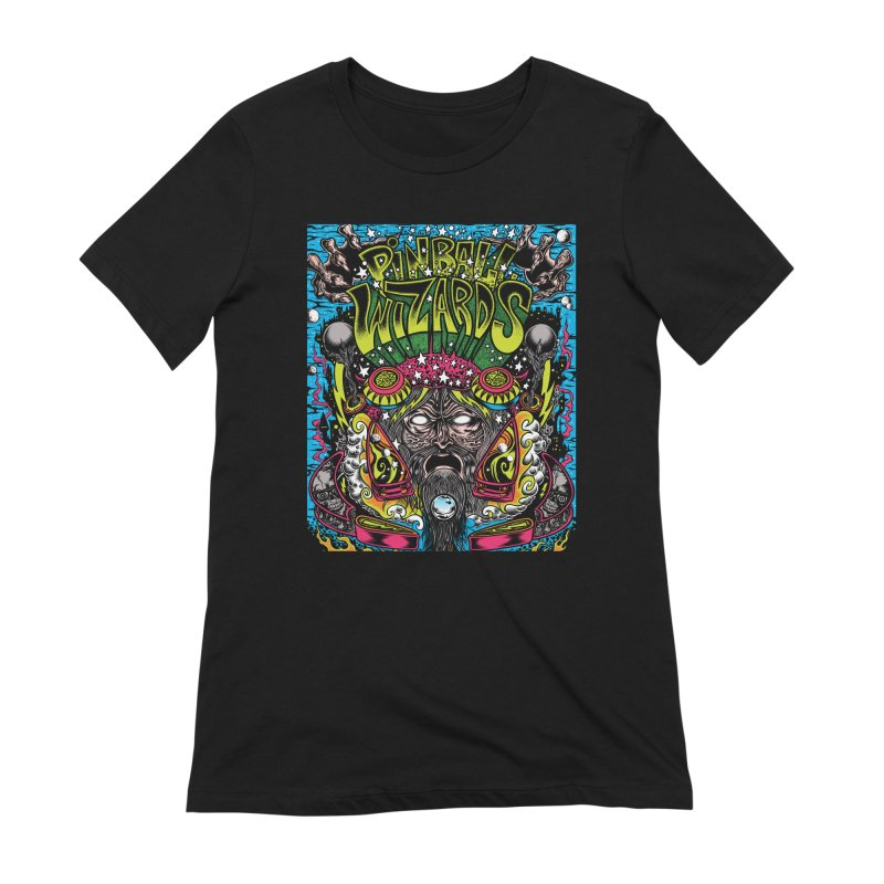 Pinball Wizards Women's T-Shirt by Dirty Donny's Apparel Shop