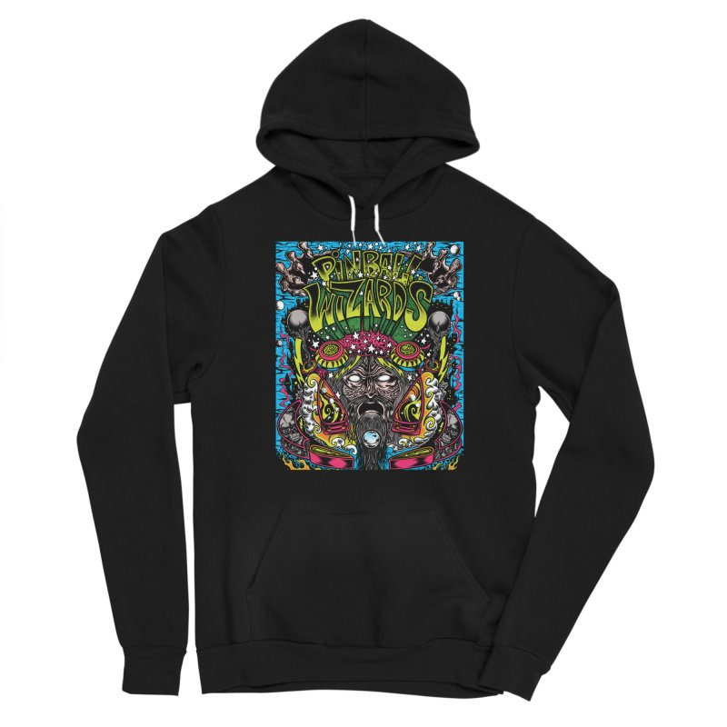 Pinball Wizards Women's Pullover Hoody by Dirty Donny's Apparel Shop