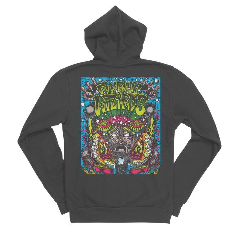 Pinball Wizards Women's Sponge Fleece Zip-Up Hoody by Dirty Donny's Apparel Shop