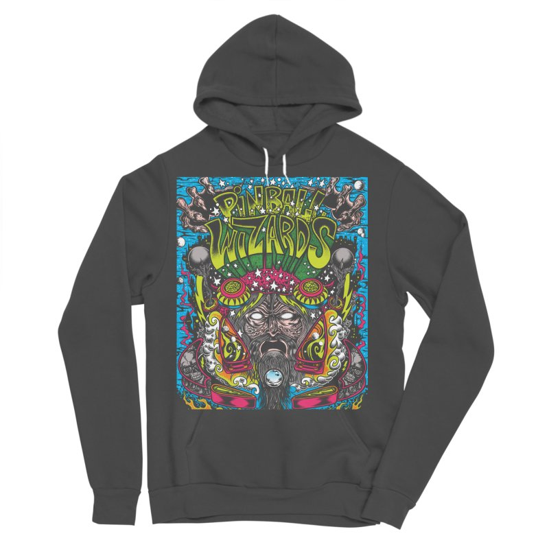 Pinball Wizards Men's Sponge Fleece Pullover Hoody by Dirty Donny's Apparel Shop