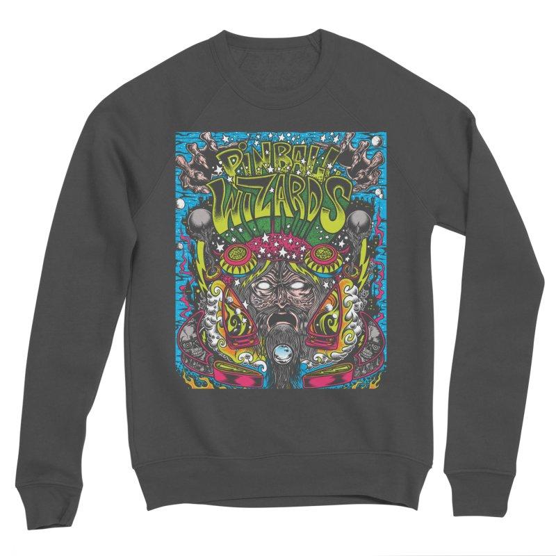 Pinball Wizards Men's Sponge Fleece Sweatshirt by Dirty Donny's Apparel Shop
