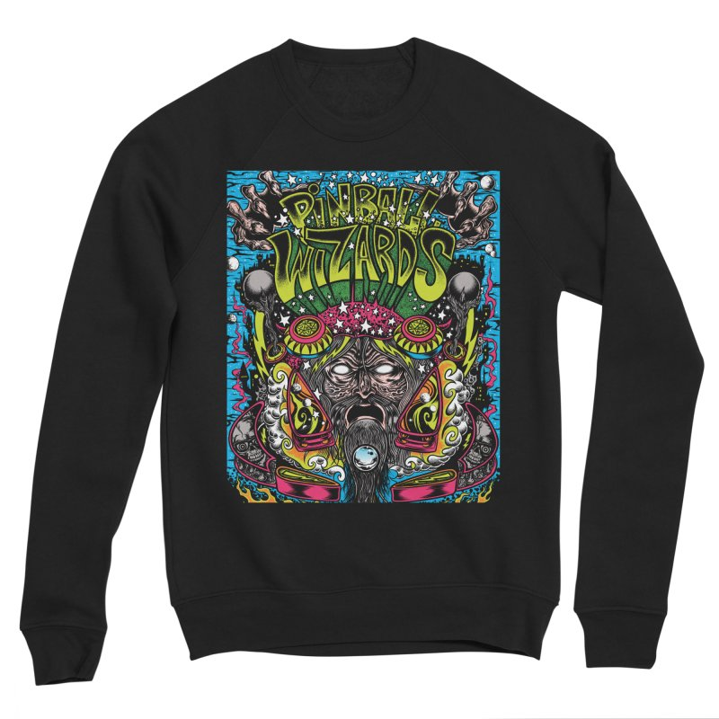 Pinball Wizards Women's Sponge Fleece Sweatshirt by Dirty Donny's Apparel Shop