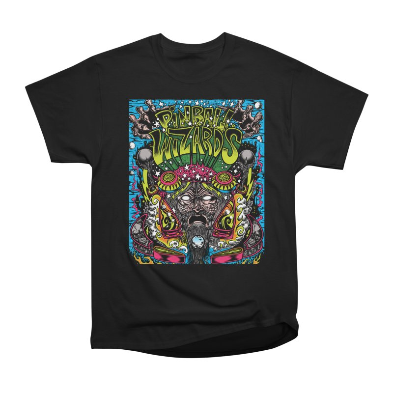 Pinball Wizards Men's T-Shirt by Dirty Donny's Apparel Shop