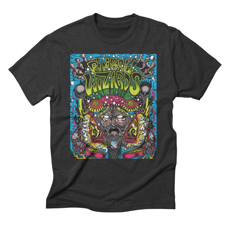 Pinball Wizards Men's Triblend T-Shirt by Dirty Donny's Apparel Shop