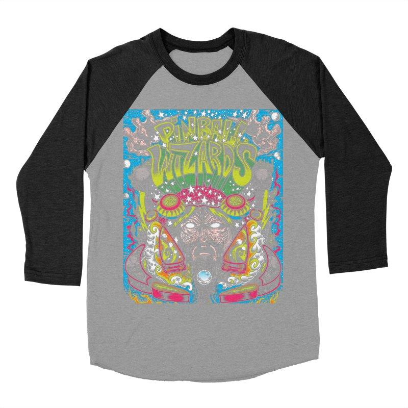 Pinball Wizards Women's Baseball Triblend Longsleeve T-Shirt by Dirty Donny's Apparel Shop