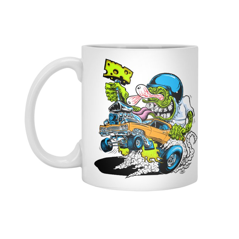 Cheese Runner Accessories Mug by Dirty Donny's Apparel Shop