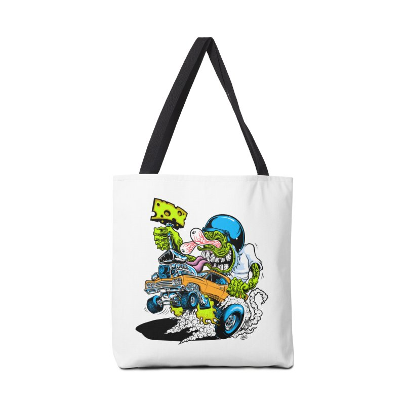 Cheese Runner Accessories Tote Bag Bag by Dirty Donny's Apparel Shop