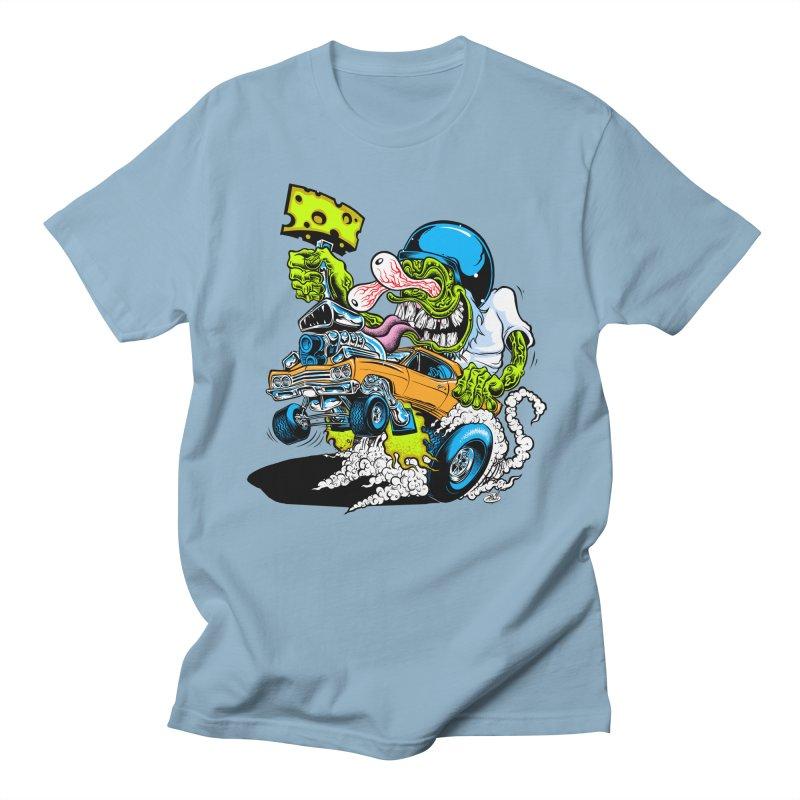 Cheese Runner Women's Regular Unisex T-Shirt by Dirty Donny's Apparel Shop