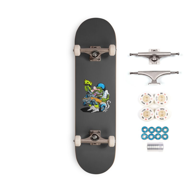 Cheese Runner Accessories Complete - Premium Skateboard by Dirty Donny's Apparel Shop