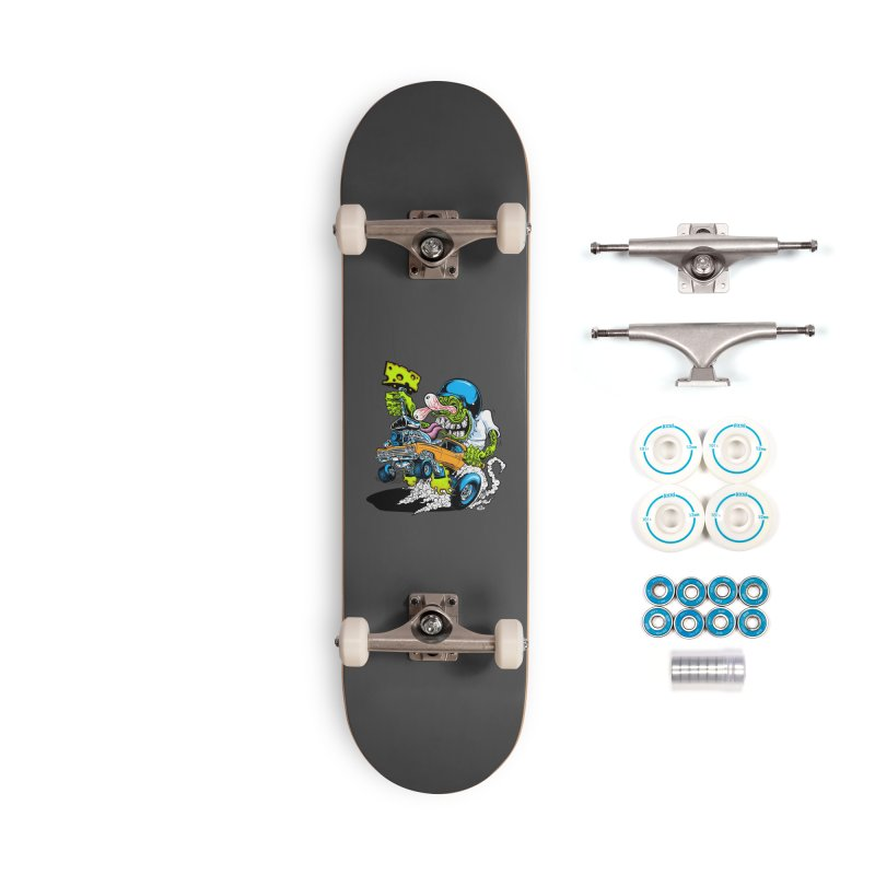 Cheese Runner Accessories Skateboard by Dirty Donny's Apparel Shop