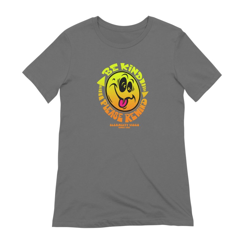 Slerm city video Women's T-Shirt by Dirty Donny's Apparel Shop