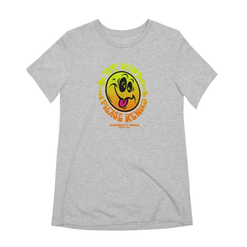 Slerm city video Women's Extra Soft T-Shirt by Dirty Donny's Apparel Shop