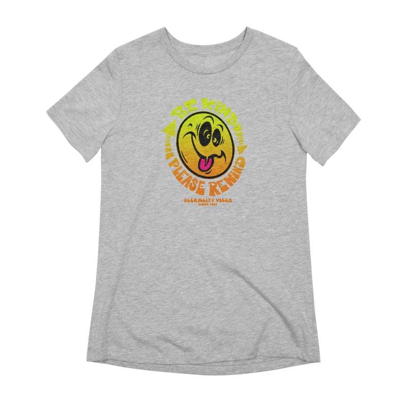 Slerm city video Women's T-Shirt by Dirty Donny's Apparel Shop