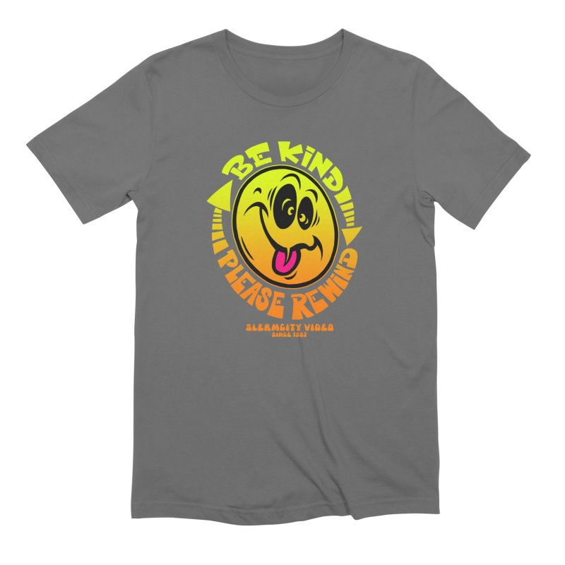 Slerm city video Men's Extra Soft T-Shirt by Dirty Donny's Apparel Shop