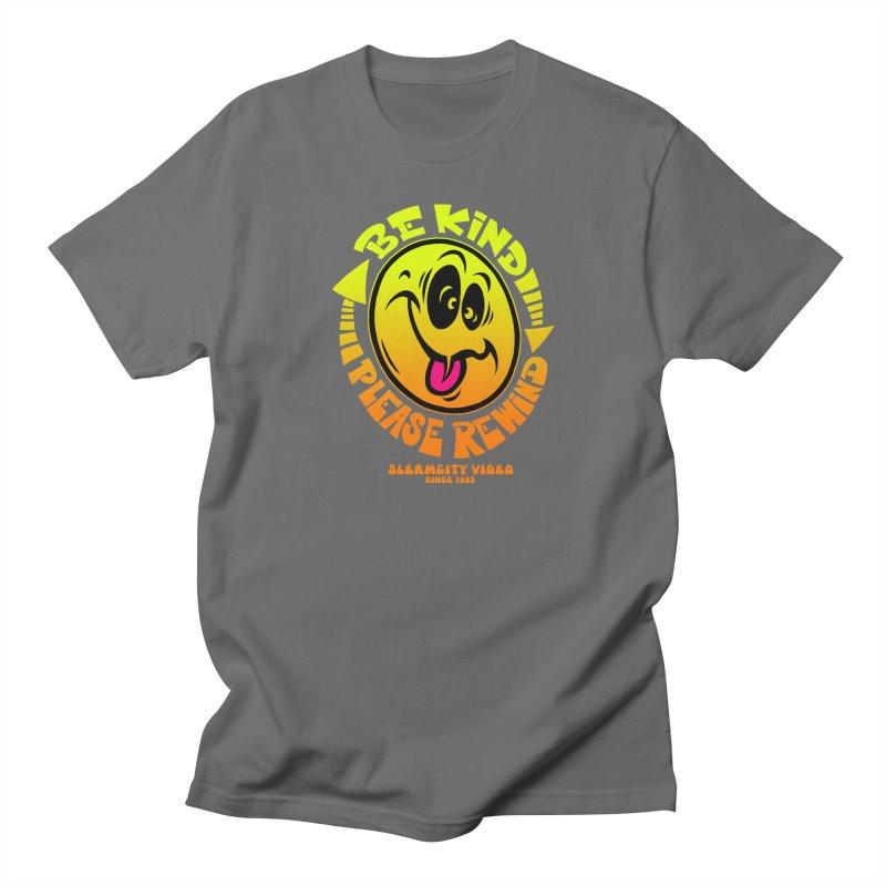 Slerm city video Men's T-Shirt by Dirty Donny's Apparel Shop