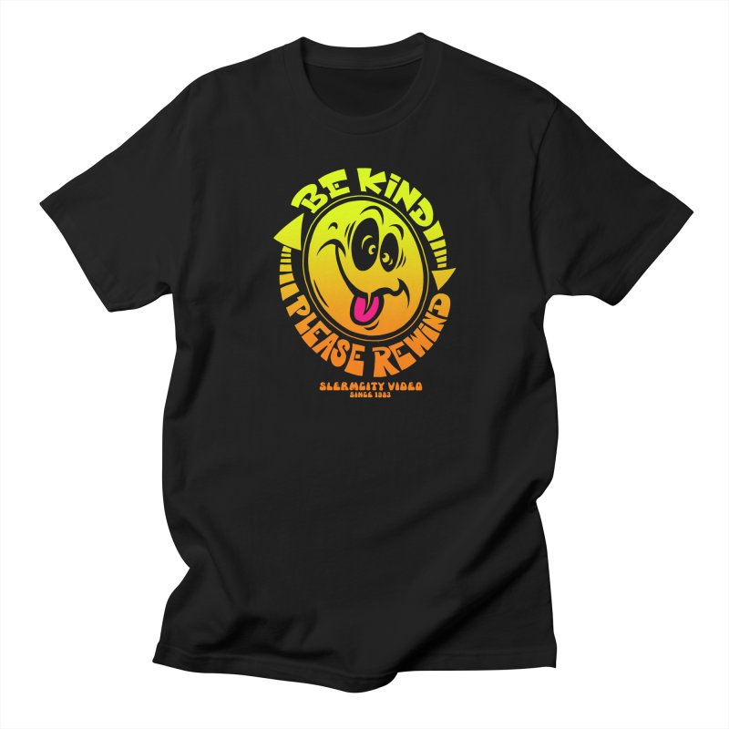Slerm city video Men's Regular T-Shirt by Dirty Donny's Apparel Shop