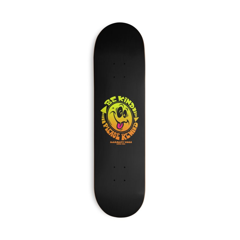 Slerm city video Accessories Deck Only Skateboard by Dirty Donny's Apparel Shop