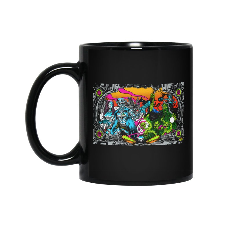 Sci vs Fi Accessories Standard Mug by Dirty Donny's Apparel Shop