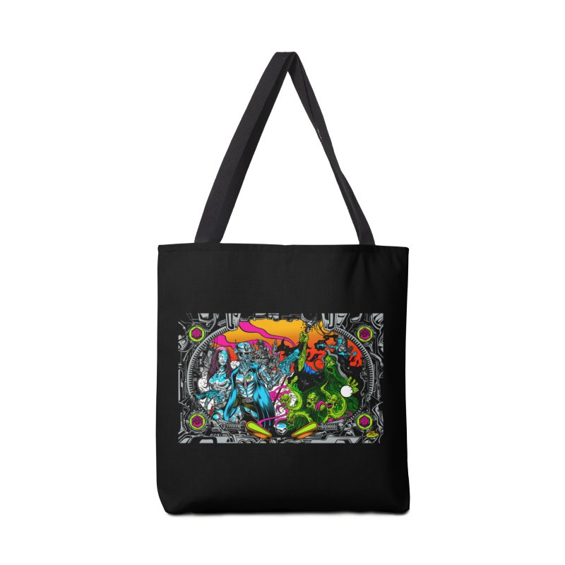 Sci vs Fi Accessories Tote Bag Bag by Dirty Donny's Apparel Shop
