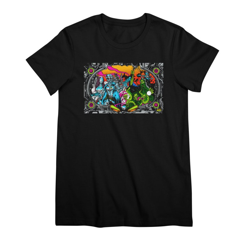 Sci vs Fi Women's Premium T-Shirt by Dirty Donny's Apparel Shop