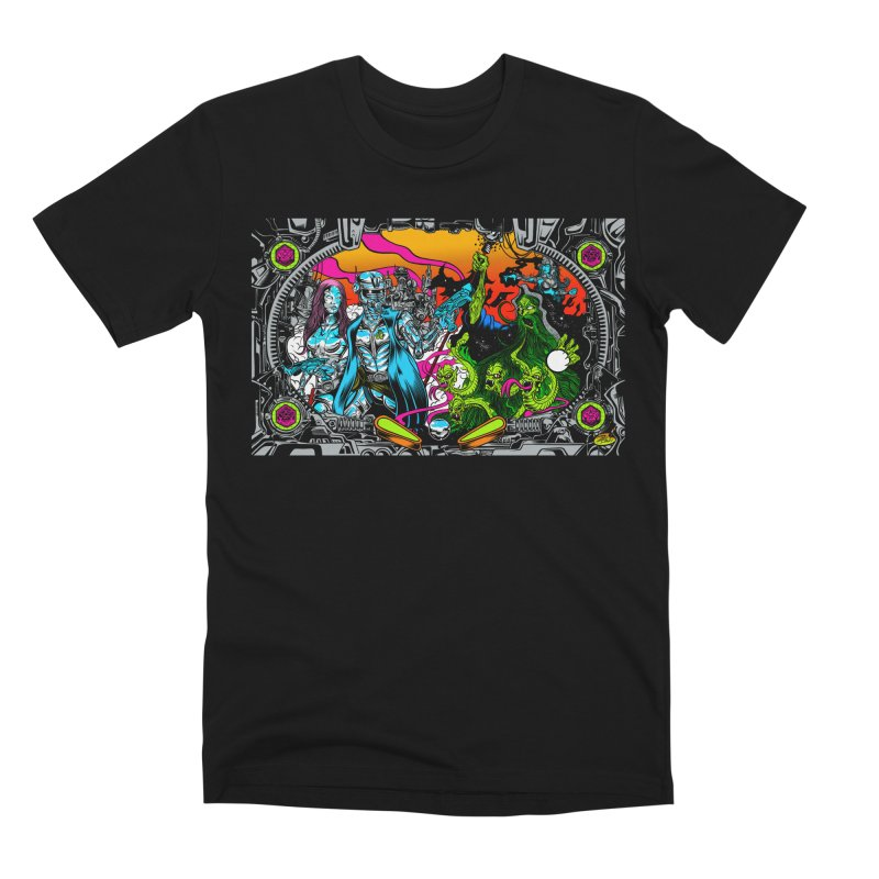 Sci vs Fi Men's Premium T-Shirt by Dirty Donny's Apparel Shop