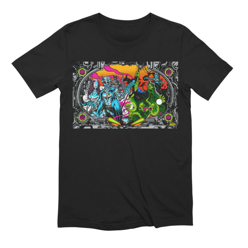 Sci vs Fi Men's Extra Soft T-Shirt by Dirty Donny's Apparel Shop
