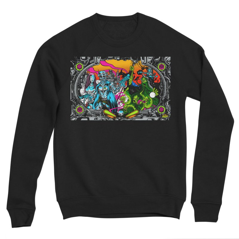 Sci vs Fi Men's Sponge Fleece Sweatshirt by Dirty Donny's Apparel Shop