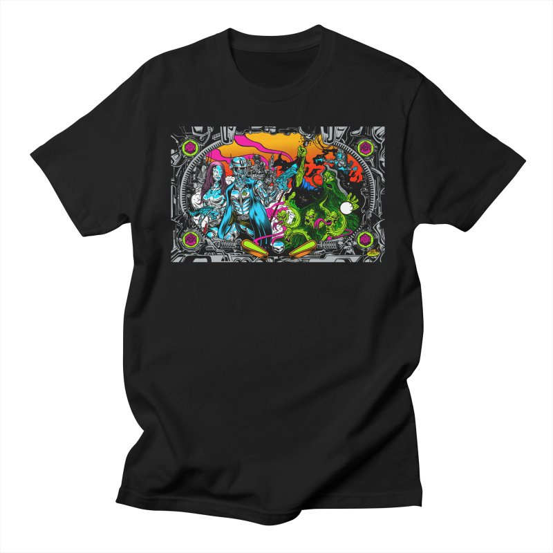 Sci vs Fi Men's Regular T-Shirt by Dirty Donny's Apparel Shop