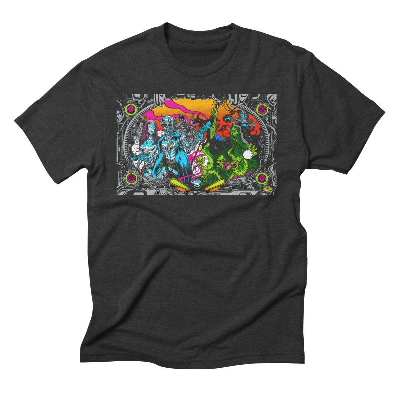 Sci vs Fi Men's Triblend T-Shirt by Dirty Donny's Apparel Shop