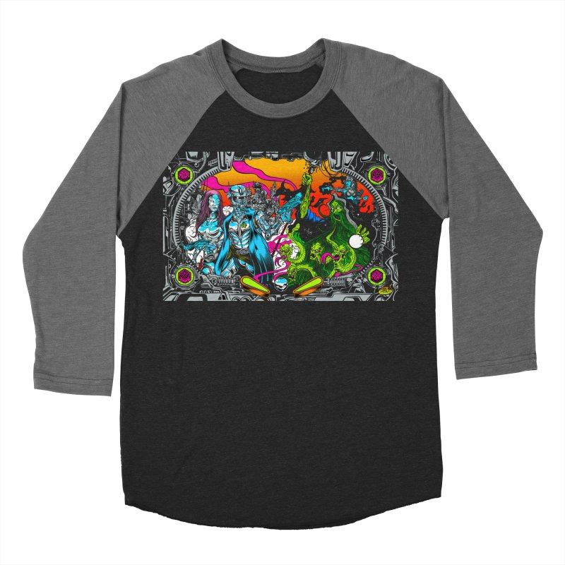 Sci vs Fi Men's Baseball Triblend Longsleeve T-Shirt by Dirty Donny's Apparel Shop