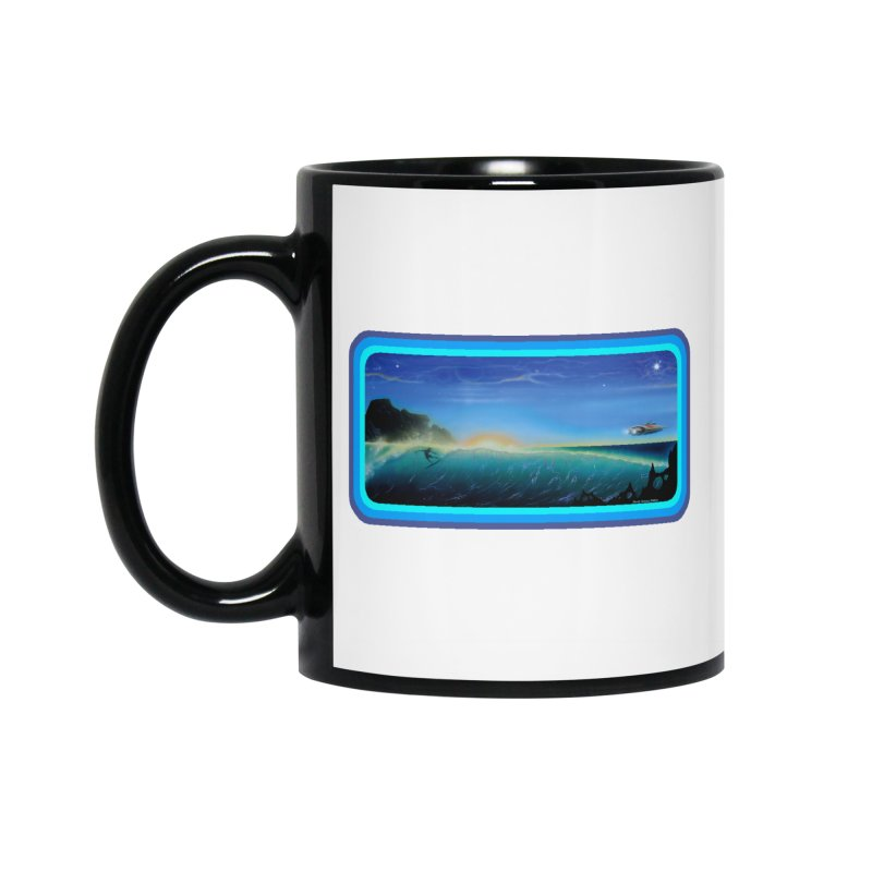 Surf Beyond Accessories Standard Mug by Dirty Donny's Apparel Shop