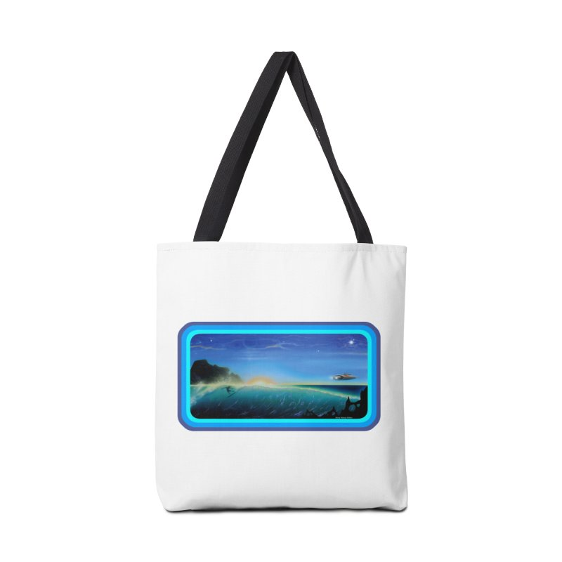 Surf Beyond Accessories Tote Bag Bag by Dirty Donny's Apparel Shop
